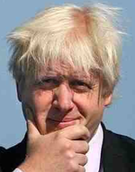 Boris Johnson messy hair