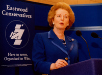 Thatcher at Eastwood