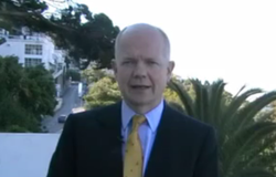 WIlliam Hague in Gibraltar