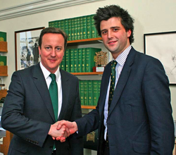 Peter Lyburn with Cameron