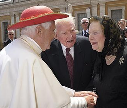 Thatcher and Pope