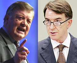Ken Clarke and Lord Mandelson