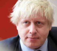 Johnson Boris Red Background