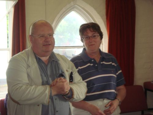 Eric Pickles and Mrs P