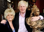 Boris and Barbara Windsor Eastenders