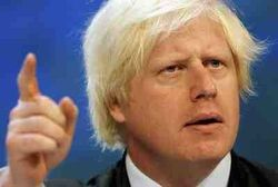 Johnson Boris Pointing