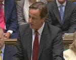David Cameron Commons crop