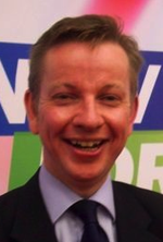 Michael Gove happy