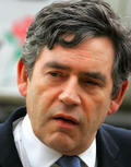 Gordon Brown morose