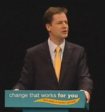 Nick Clegg in Birmingham