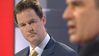 TV Debate Clegg and Brown