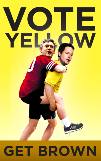 Cleggy-back vote yellow