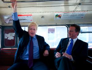 Boris and David Cameron