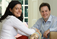 Miriam and Nick Clegg