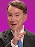 Mandelson pointing cheeky
