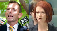 Gillard and Abbott