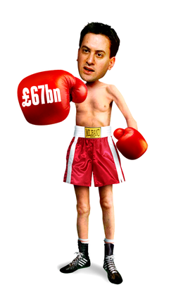 C-Home Boxing Ed Miliband