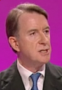 Mandelson speaking 2