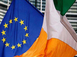 Irish EU flag Ireland