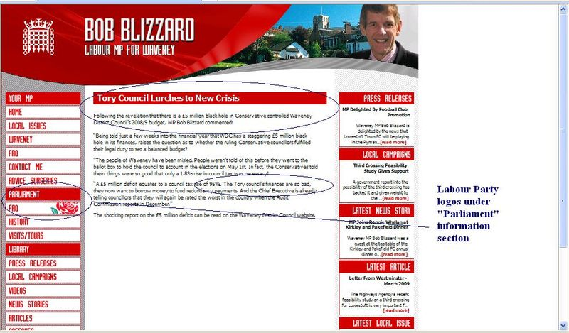 Blizzardmp tory council lurches to new crisis2