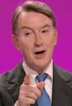 Mandelson pointing