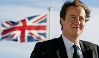 CAMERON WITH UNION FLAG