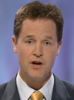 TV Debate Nick Clegg