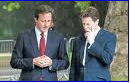 Cameron and Clegg - studious