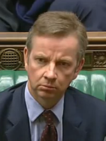 Michael Gove contrite Commons