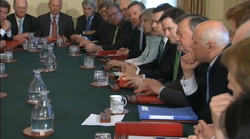 Coalition Cabinet meeting