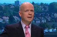 WIlliam Hague at conference 2009
