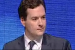 George Osborne blue background