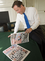 David Cameron and The Sun