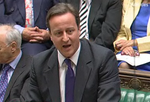 David Cameron despatch box 2010