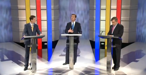 TV Debate wide centre