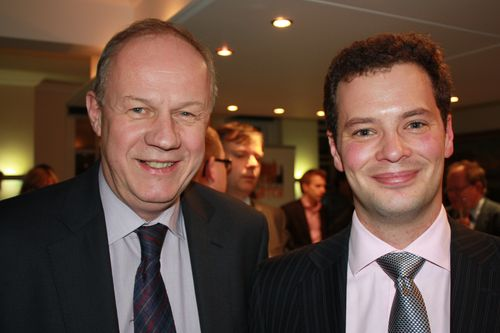 Alex Deane and Damian Green