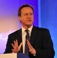Cameron At Lecturn