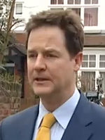 Nick Clegg 2011 resolute