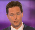 Nick Clegg at BBC Leaders Debate