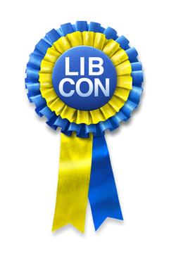 LibCon rosette with shadow