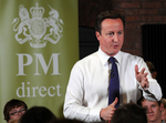 David Cameron at PM Direct