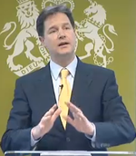 Nick Clegg speaks 2011