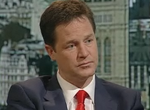 Nick Clegg on Marr