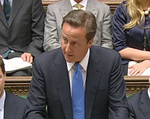 David Cameron Despatch Box PM