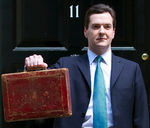 George Osborne Budget Day square