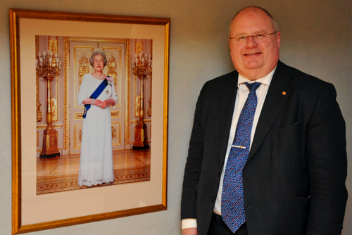 Eric Pickles and Queen