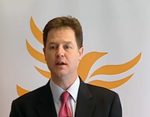 Clegg with LD bird
