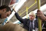 Johnson Boris On Tube