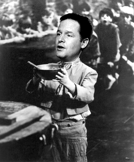 MAY Clegg More Please BW