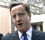 David Cameron doorstep 2011
